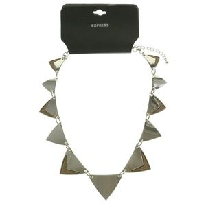 Express Fashion-Necklace Silver/Copper NWT